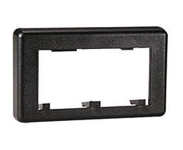 Snap-On Modular Furniture Faceplate Extenders, Black