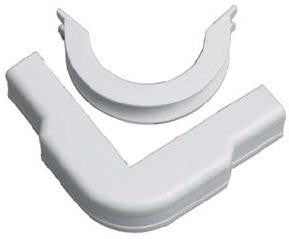 "Multilink Broadband 1-3/4"" Ivory Outside Corner Fitting for MRM17 and MRC17"