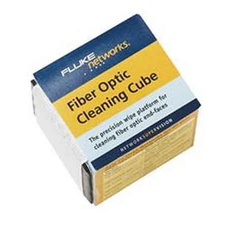 Cleaning cube with wipers (cleans up to 50 end-faces)