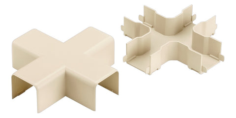 Office Furniture Raceway Cross Fitting, Office Beige