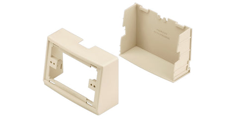 Office Furniture Raceway Mid-panel Tee Fitting, Office Beige