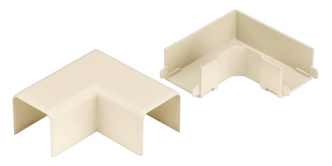 Office Furniture Raceway Right Angle Fitting, Office Beige