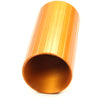 "Anodized Aluminum ETL Tapered Screw on, 1-1/4"" HDPE Riser/Plenum"