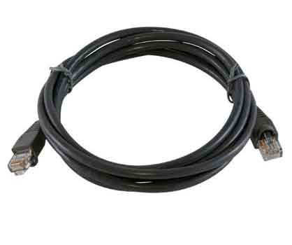 MOLEX, Category 6 Stranded, Unshielded Patch Cable W/ Snagless Boot, Length  3 Mtr.