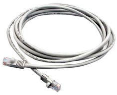 MOLEX, Category 5e Stranded Unshielded Patch Cable W/ Snagless Boot, Length 25ft.