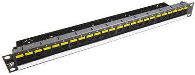 Datagate Plus Cat 5e 24 port 1U w/cable management