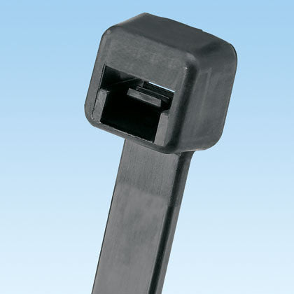 Cable Tie, 5.6 in., Intermediate cross section, Black, 1000/pk