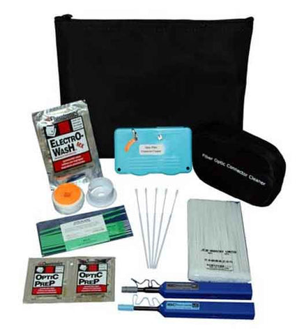 Fiber Optic Cleaning Kit w/ Fer. Cleaner