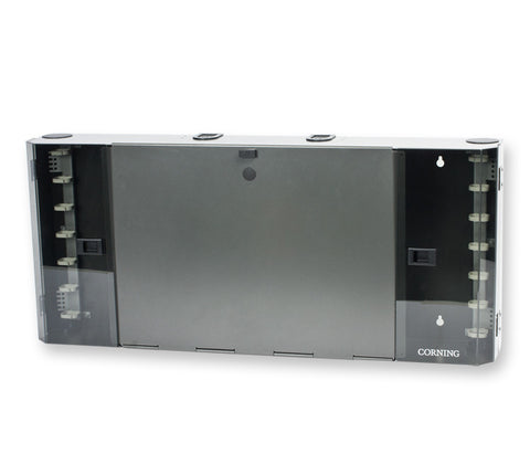 Pretium Wall-Mountable Housing (PWH), holds 12 CCH connector panels