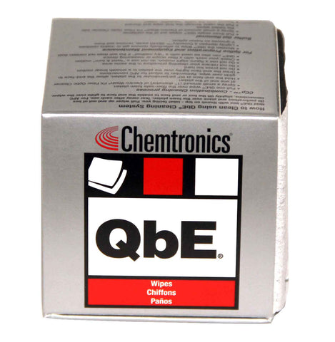 Chemtronics QbE Lint Free Wipes - 200 Wipes/Box