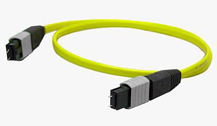 1 meter Single Mode 12 Fiber Ribbon MTP(male) - MTP(male) Cable Assembly
