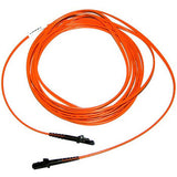1m MTRJ(female) - MTRJ(female) Duplex 50/125µm/1.6mm Multimode Patch Cord