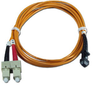 1m MTRJ(female) - SC Duplex 62.5/125µm/1.6mm Multimode Patch Cord