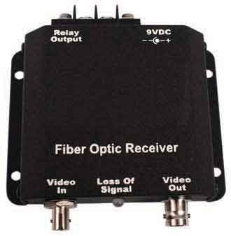 Standalone Fiber Optic Video Receiver,Single/Multimode 13000nm