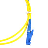 1m Simplex 8.3/125?æm/2.8mm Single Mode E2000/UPC - E2000/UPC Patch Cord - FOSCO (Fiber Optics For Sale Co.) - 2