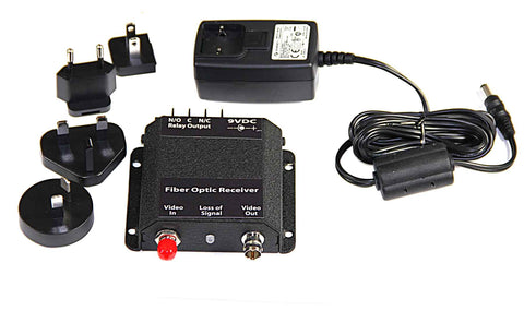 Standalone Fiber Optic Video Receiver,Multimode 850nm