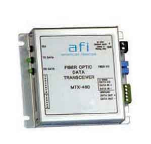 Fiber Optic Data Transceiver (2 Fibers), TX, Multimode