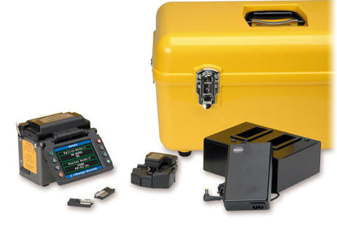 AFL FSM-11S Single Fiber Splicer Kit Plus CT-30 Fiber Cleaver