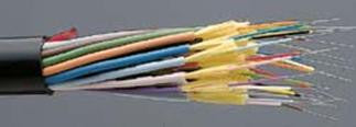 9/125µm Single Mode Break Out Cable - OFNR - Indoor/Outdoor - 6 Fibers