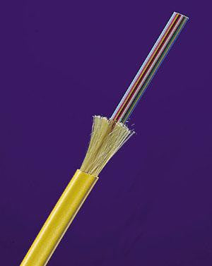 9/125µm Single Mode Jacketed Fiber Ribbon - 6 fibers