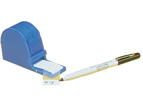 "Label Dispenser Kit 1"" W x 1.25""L Self-Laminating Vinyl 200/RL"