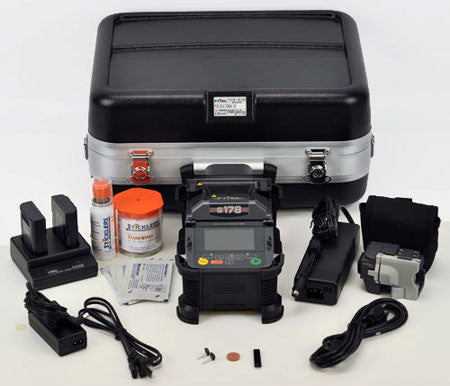 Fitel S178A Fusion Splicer ValueKit Plus - Extra Battery, 250µm + 900µm holders