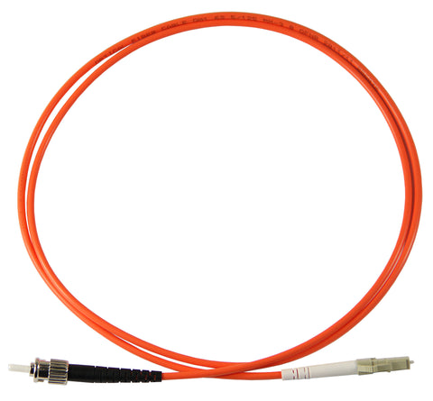 1m ST-LC Simplex 50/125µm multimode patch cord