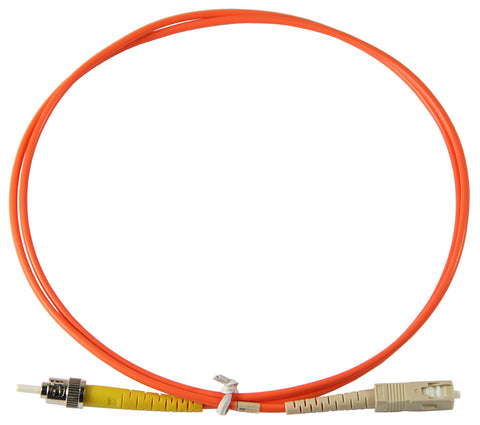 1m ST-SC Simplex 62.5/125µm multimode patch cord
