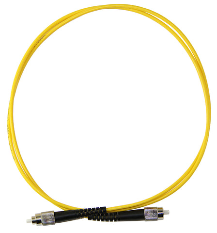 1m FC-FC Simplex 8.3/125µm single mode patch cord, UPC polish