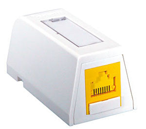 Synergy Series 1 Port Surface Box, White Color, Mfr Molex