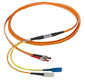 SC-ST 50/125µm mode conditioning patch cord, SC single mode, 1 meter length