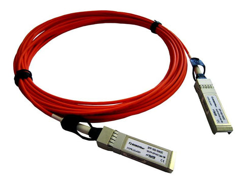 SFP-10G-10AOC SFP+ 10G active optical direct attach cable 10m length, Cisco ready