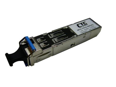 SONET OC48 SFP transceiver modules, 1310nm and 1550nm, single-mode, up to 120Km, 2.67Gbps