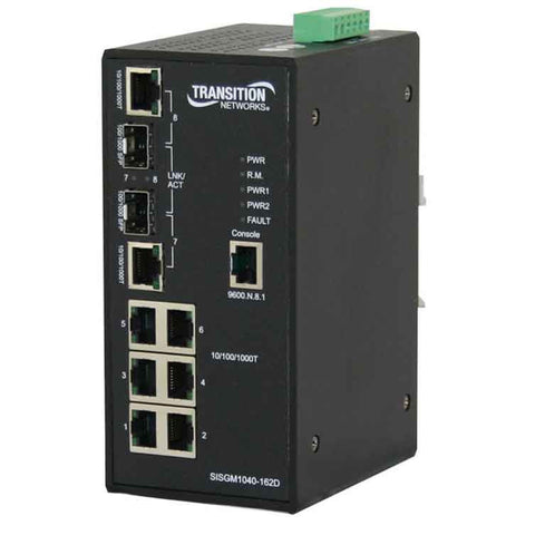 (6) 10/100/1000 Ethernet Stand-Alone Media Converters