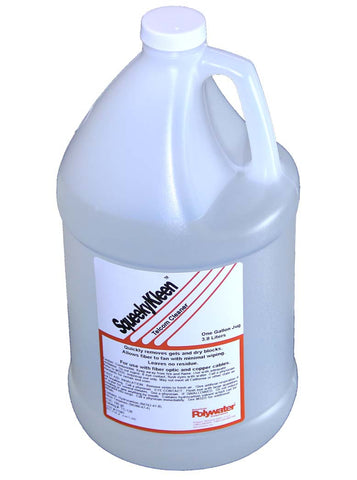 Polywater SqueekyKleen Telcom Cleaner 1 Gallon Bottle