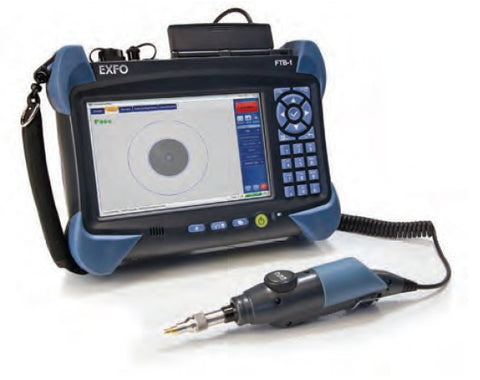 FTB-1 Fiber Inspection & Test Kit w/ Power Meter, VFL 200/400 probe and cleaning kit.