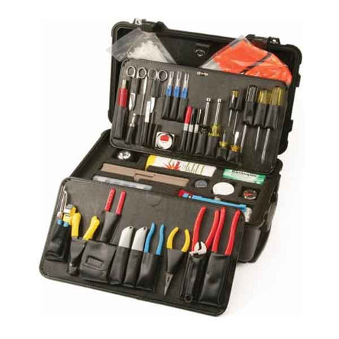 Adanced Fiber Optical Tool Kit Cable Prep And Splicing TKT-FiberTech-Pro