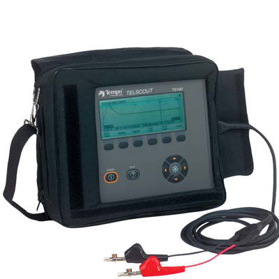 TEMPO TelScout TS100-01 Metallic TDR Cable Tester for Telephone Applications, 5 to 3000ns Pulse Widt
