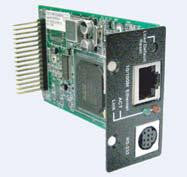 10/100 Ethernet router module for TTU01 T1 acces unit