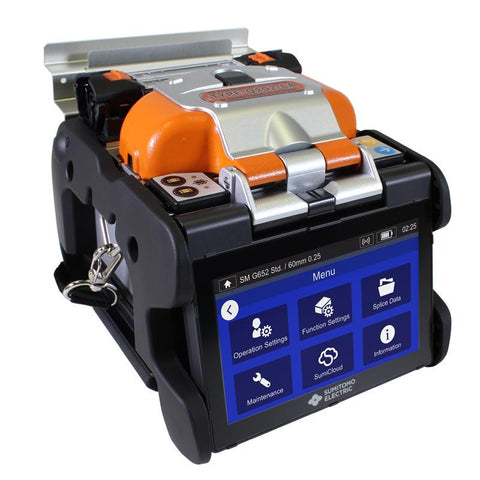 Sumitomo Type Q102CA Quantum Fusion Splicer Kit with Blade FC8R Cleaver