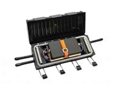 UCAO splice tray, holds six Fiberlok mechanical splices (requires UCAO-STKR-SP splice tray stacker