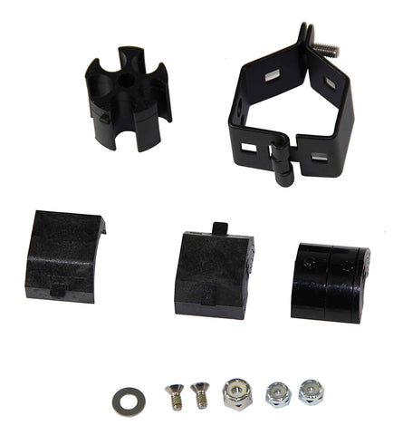 Corning Universal Cable Clamp. Strain-Relief Kit, Includes One Cable Clamp and One Support Bracket
