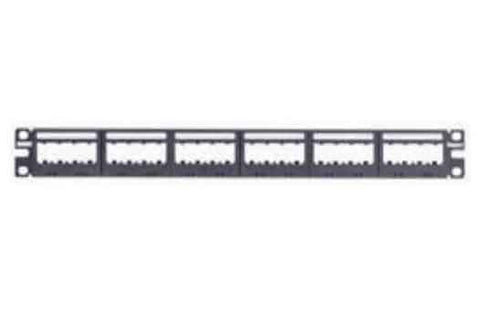 Ultimate ID Modular Flat Patch Panels, 24-port, 1-rack