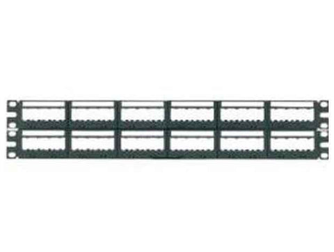 Ultimate ID Modular Flat Patch Panels, 48-port, 2-rack