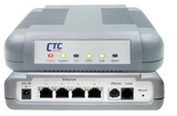 VDSL2 LAN Extender - VDSL2 DMT Ethernet modem with 4 port 10/100BaseTX switch