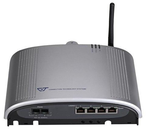 Triple play Fiber gateway with four 10/100Base-TX ports, BiDi single strand uplink, WiFi 11g AP, two