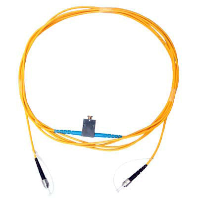 Multimode Variable Attenuator, 50µm or 62.5µm Fiber Core, 2 meters, Return Loss < -30dB