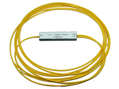 2x2 Single Mode Dual Window WDM 1310/1550nm 3mm Yellow Jacketed, No Connectors