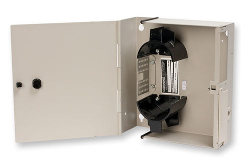 Corning WIC-012 12 Fiber Wall Mount Interconnect Center - Accepts 2 WIC Connector Panels