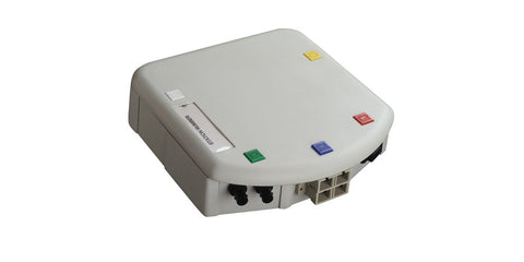 2 PORT PANEL ST LOADED MM - USE WITH WMO OUTLETS CER. INSERT, WHITE